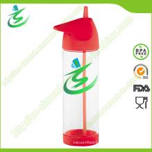 900 Ml Tritan Straw Water Bottle, BPA-Free
