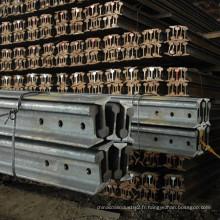 Rail ferroviaire de rail d'acier de 18kg rail standard chinois