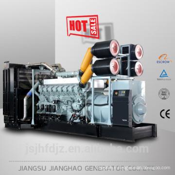 Avec Mitsubishi japonais original moteur diesel generator 600kw à 1800kw