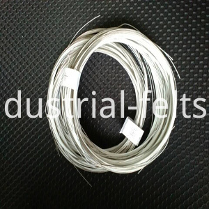 Spiral belt joint wire