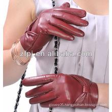 2014 girls bowknot design winter brand name gloves