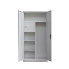 China Mingxiu 2 Door Steel Wardrobes with Locker