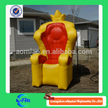 Inflatable sofa stable cartoon /Queen inflatable throne