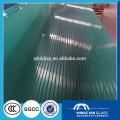 Panel de vidrio templado de 12 mm de espesor para la sala de la casa con balaustrada