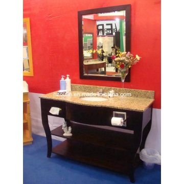 Granite Counter Wooden Bathroom Vanity (B-51C)