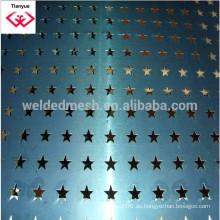 Hoja perforada de acero inoxidable, 1 a 20m de longitud, 1 a 1.5m de ancho con certificado ISO9001