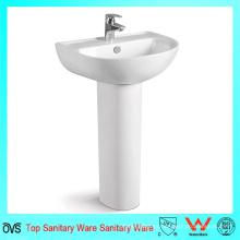 Lavado de cerámica lavamanos moderno lavamanos lavabo gabinete conjunto