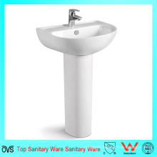 Ceramic Washing Modern Bathroom Vanity Sink Basin Cabinet Set