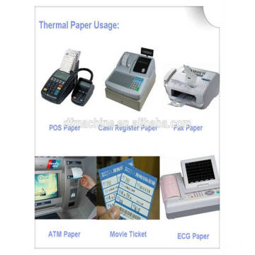 Slitting Machine for Petrol Pump Self-Stations Receipt Paper Roll