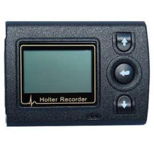 Portable ECG Holter Recorder With LCD , Holter Heart Monito