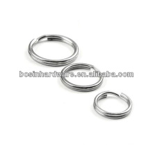 Manufacture Pretty Quality Metal Stainless Steel Rings Key Ring