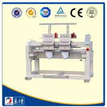 Lejia 2 Heads Cap/T-shirt/Tubular Embroidery Machine