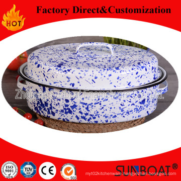 Enamel Roaster Pan Enamel Pot Kitchenware / Kitchen Appliance