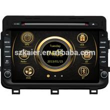 DVB-T / ISDB-T winke Systemautomedien für KIA 2014 K5 / Optima mit GPS / Bluetooth / Radio / SWC / virtuellem 6CD / 3G Internet / ATV / iPod / DVR