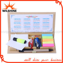 Top Sale Recycled Paper Cover Memo Pad with Calendar for Promotion (GN017)