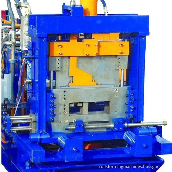 rouleau de cz formant la machine
