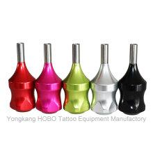 Máquinas calientes del tatuaje de la venta Apretones coloridos del tatuaje del cartucho de aluminio de las fuentes