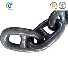 Stud Link Anchor Chain U2/U3 Grade Black Painting