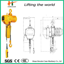Fixed Type Electric Power Chain Hoist with Hook