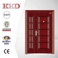 Commercial One and Half Steel Security Door KKD-525B for Residential Project