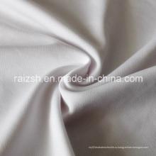 Ткань шелка молока отбеленная полиэфирная ткань спандекса софы Джерси