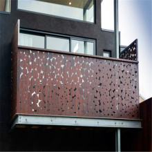 Laser Cut Metal Fencing Balkon