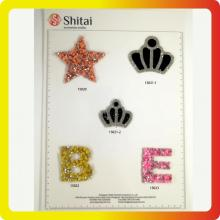 More stars&letters appliques designs for sales on 2018
