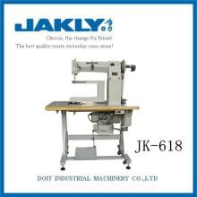 JK618 Industrial electronic Double-eyelet setting shoe making machine
