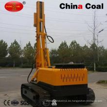 Máquina de accionamiento de la pila de tornillo del martillo hidráulico diesel