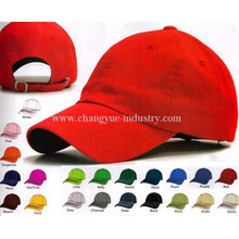 Promotion cotton plain baseball cap hat