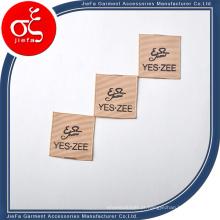 Etiqueta impressa de gorgorão de marca de moda / etiqueta de impressão