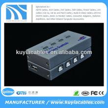 4 Port USB 2.0 Auto Sharing Switch USB Switch 4 PC to 1 Printer/Scanner