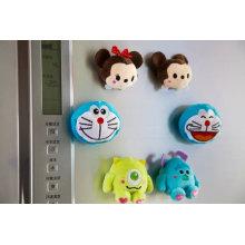 Animales imán de juguete Mini juguete de peluche magnético para Freidge