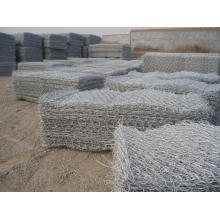 Verzinkte oder PVC Gabion Box Factory / Sechskant-Draht Netting / Stone Cage