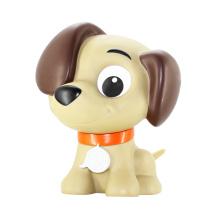 Лаки собака, ПВХ Прекрасная форма собаки, Украшение Пластиковые игрушки для собак на дисплей