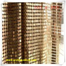 Malla de alambre decorativa / malla de cortina de metal de Anping Factory (ISO)