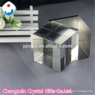 crystal glass cube for 3D laser engrave