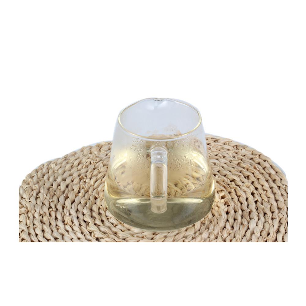 Durable Handle Glass Tea Pot