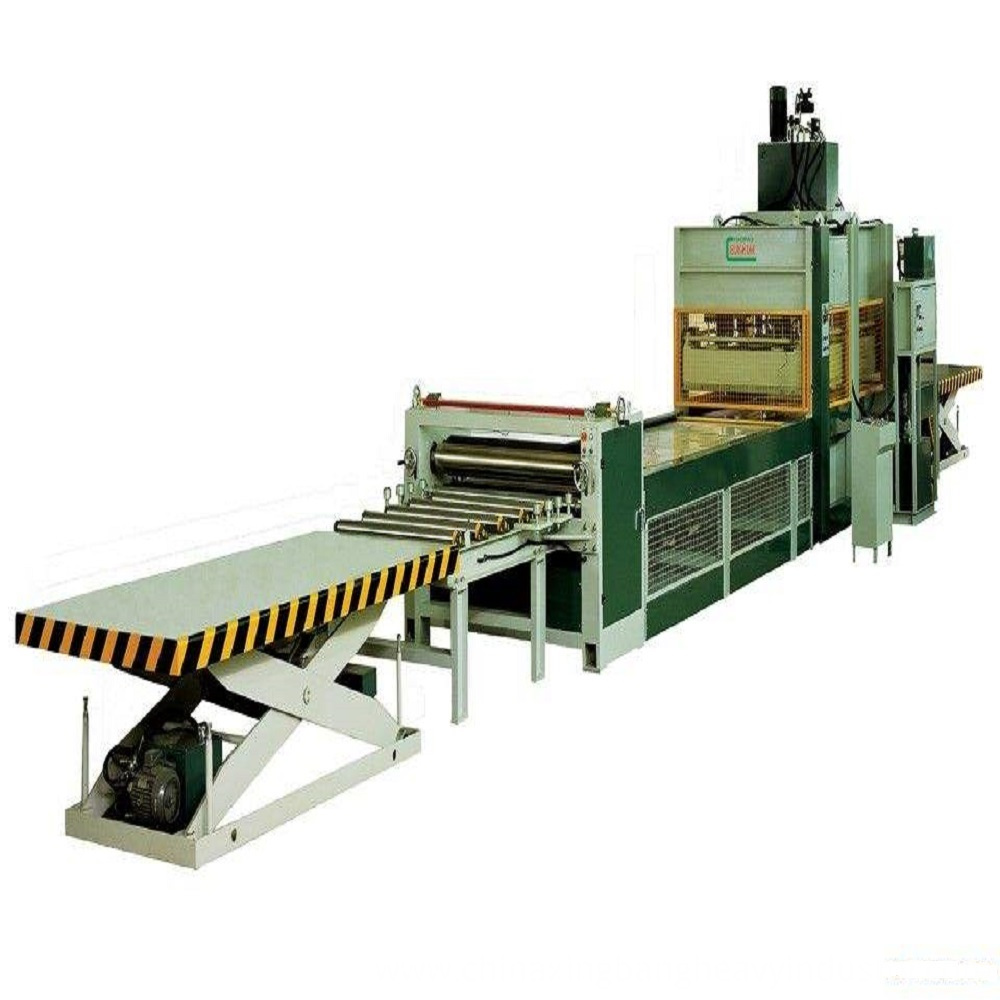 Green Plastic Wood Profile Machine
