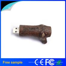 Embalagem Barata Original Ecologia Madeira USB Flash Drive