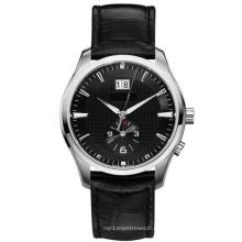 Reloj de pulsera de cuero para hombre