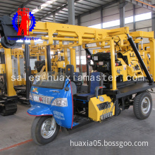 XYC-200A tricycle-mounted hydraulic core drilling rig