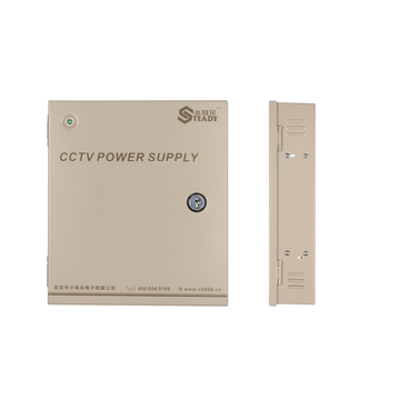 120W Integrated Power distribution for CCTV cameras
