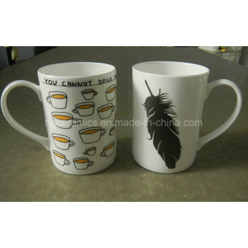 Tasse promotionnelle de 10 oz Bone China Mug