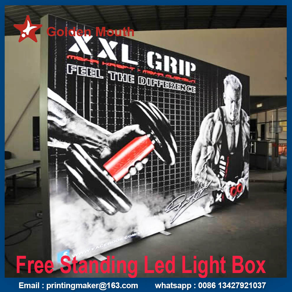 fabric led light box
