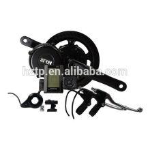 Kit bici eléctrica 48V para bicicleta diy 500W bafang 8FUN BBS02 kit motor con cable resistente al agua
