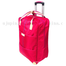 OEM Polyester Water Proof Handle Travel Trolley Luggage