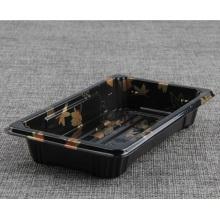 microwavable Mini printed plastic sushi box