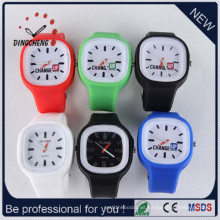 Reloj de gelatina de silicona, Relojes baratos, reloj resistente al agua (DC-1316)