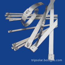 Ball-Lock Stainless Steel Cable Ties